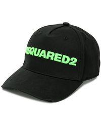 DSquared² - Contrast Logo Baseball Cap - Lyst