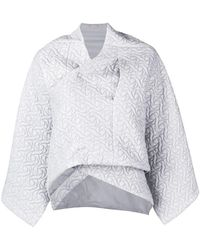 Nehera - Cropped Quilted Jacket - Lyst
