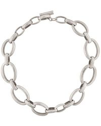 Ann Demeulemeester - Antique Chain Necklace - Lyst