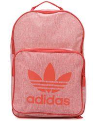 adidas - Oversized Logo Backpack - Lyst