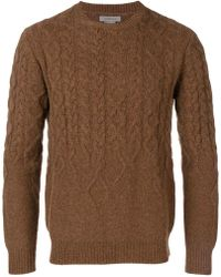 Corneliani - Cable Knit Sweater - Lyst