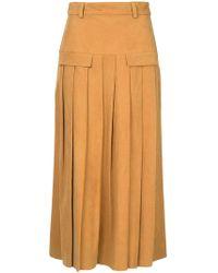Kitx - Intuitive Pleat Skirt - Lyst