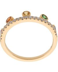 Khai Khai - Rainbow Crown Ring - Lyst