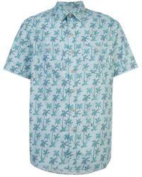 Michael Bastian - Palm tree shirt - Lyst