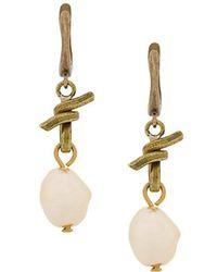 Marni - Faux Pearl Drop Earrings - Lyst
