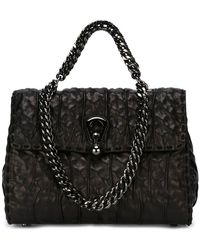 Ermanno Scervino - Textured Leather Tote - Lyst