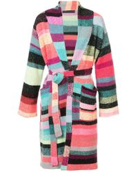 The Elder Statesman - Patched Stripe Robe - Lyst