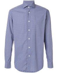 Corneliani - Classic Checked Shirt - Lyst