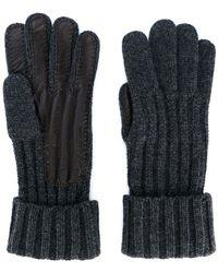 Brioni - Lamb Skin Detail Gloves - Lyst