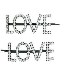 Ashley Williams - Love Hair Pins - Lyst