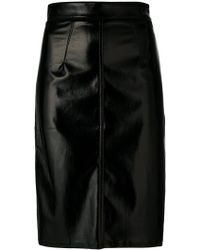 Fiorucci - Vinyl Mini Skirt - Lyst