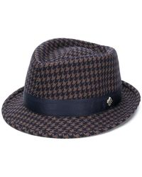 Tagliatore - Chris Checked Hat - Lyst
