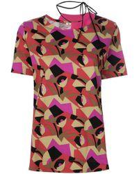 Marni - Geometric Print T-shirt - Lyst