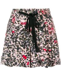 Zadig & Voltaire - Print Fitted Shorts - Lyst
