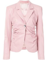 DROMe - Ruched Jacket - Lyst