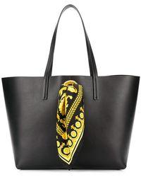 Versace - Baroque Scarf Tote Bag - Lyst
