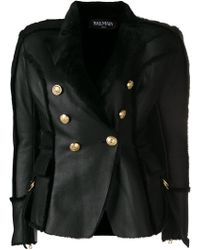 Balmain - Double-breasted Jacket - Lyst