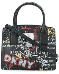 Donna Karan - Small Graffiti Tote - Lyst