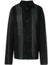 Ma+ - Panelled Shirt Jacket - Lyst