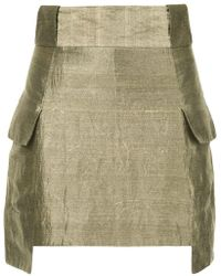 Kitx - Structured Mini Skirt - Lyst