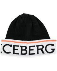 Iceberg - Branded Beanie - Lyst