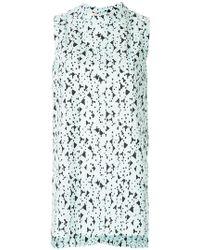 Marni - Sleeveless Patterned Blouse - Lyst