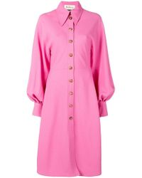 Mulberry - Oversized Shirt Dress - Lyst
