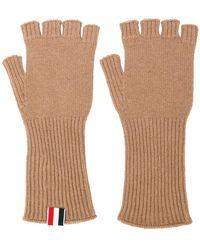 Thom Browne - Fingerless Cashmere Gloves - Lyst