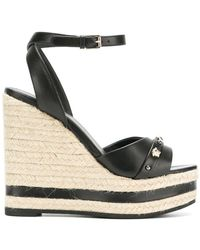Versace - Medusa High-wedge Sandals - Lyst