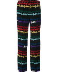 Gucci - Signature Print Pyjama Trousers - Lyst