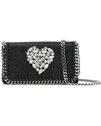 Stella McCartney | Crystal Heart Falabella Cross-body Bag | Lyst