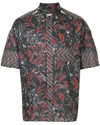 Yoshiokubo - Dry Leaf Printed Shirt - Lyst