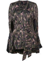 Thomas Wylde - Camouflage Coat - Lyst