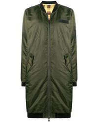 6397 - Zipped Parka Coat - Lyst