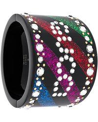 Gucci - Acetate Rainbow Cuff - Lyst