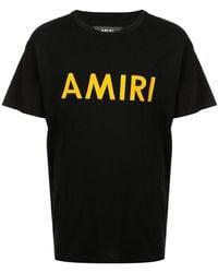 Amiri - Logo Print T-shirt - Lyst