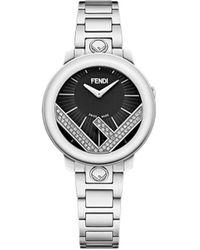 Fendi - Embellished Run Away Watch - Lyst