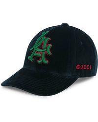 Gucci - Gorra de béisbol RUNWAY con parche LA AngelsTM - Lyst 154084ca1d6