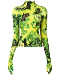 Richard Quinn - Jersey con estampado floral - Lyst
