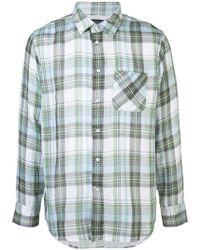 Rag & Bone - Camisa con motivo de cuadros - Lyst