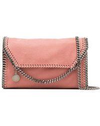 Stella McCartney - Pink Mini Poly Shoulder Bag - Lyst