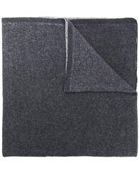 Dell'Oglio - Two-tone Scarf - Lyst