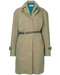 Kolor - Layered Front Mid-length Coat - Lyst
