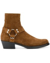 Balenciaga   Harness Ankle Boots   Lyst