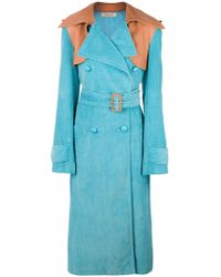 Nina Ricci - Oversized Trench Coat - Lyst
