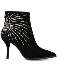 Lola Cruz - Embellished Booties - Lyst