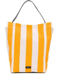 Paul Smith - Large Striped Shoulder Bag - Lyst