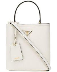 Prada - Double Bucket Bag - Lyst