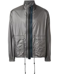 a1a765a1433c Lyst - Saint Laurent Black Coated Denim Jacket in Black for Men