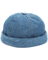 Beton Cire - Miki Denim Sailor Cap - Lyst